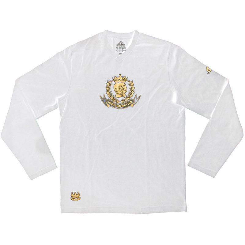 "Adidas longsleeve ""Boxing Club"" (wit)"