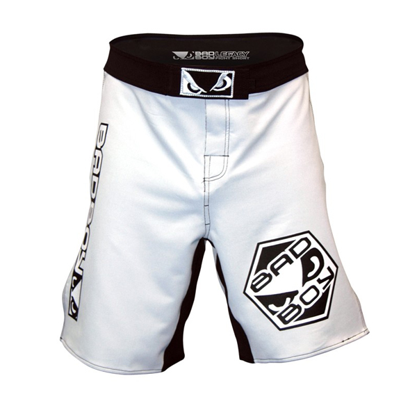 Bad Boy Legacy MMA broek (wit) - XL