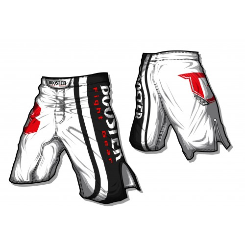 Booster MMA Short Pro  Origin (wit)