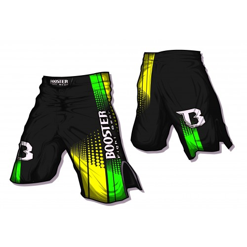 Booster MMA Short Life Neon