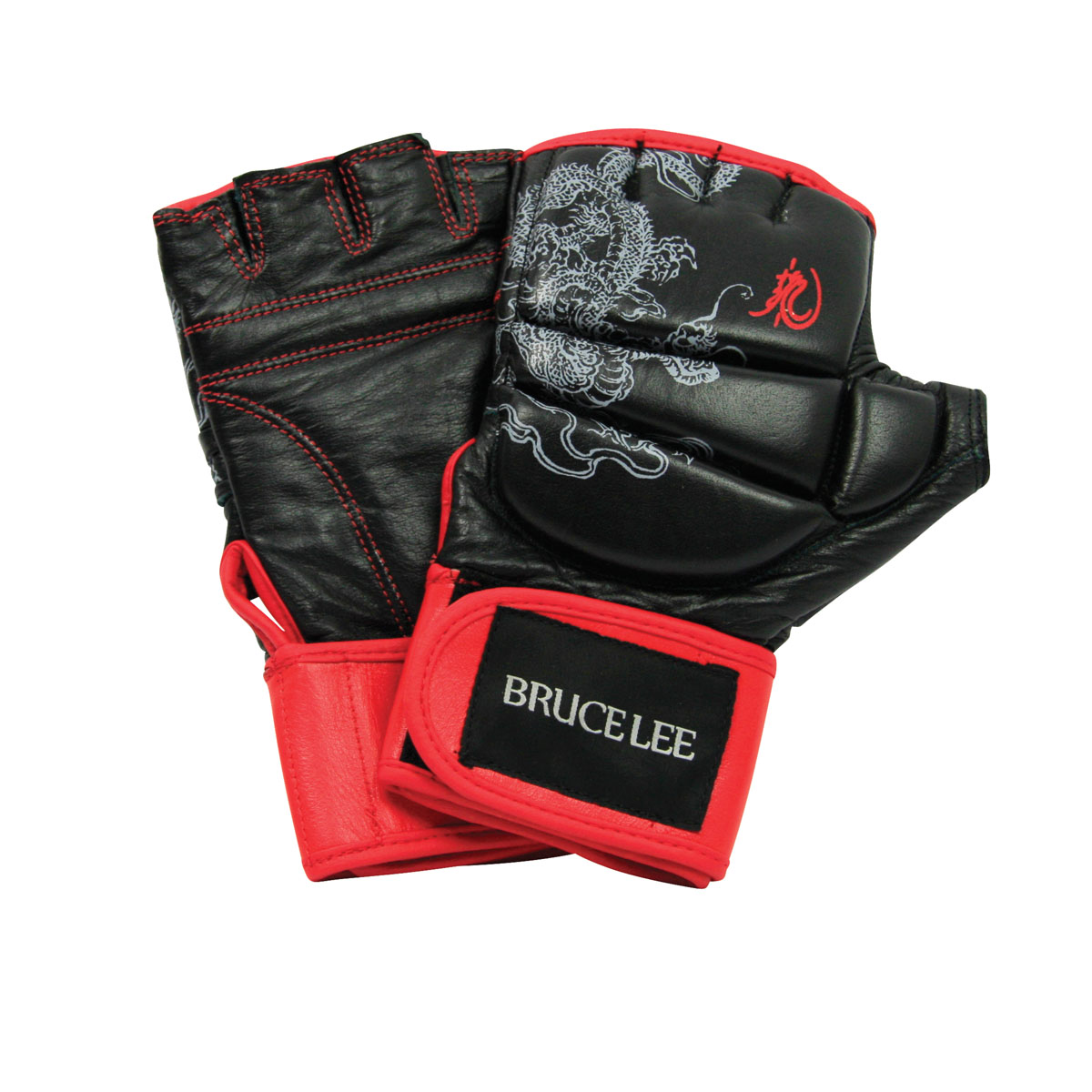 Bruce Lee Dragon Deluxe Grappling MMA handschoenen