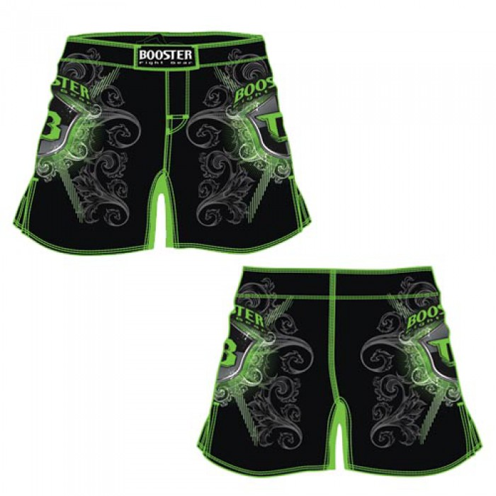 MMA SHORT PRO 15 SHIELD GREEN