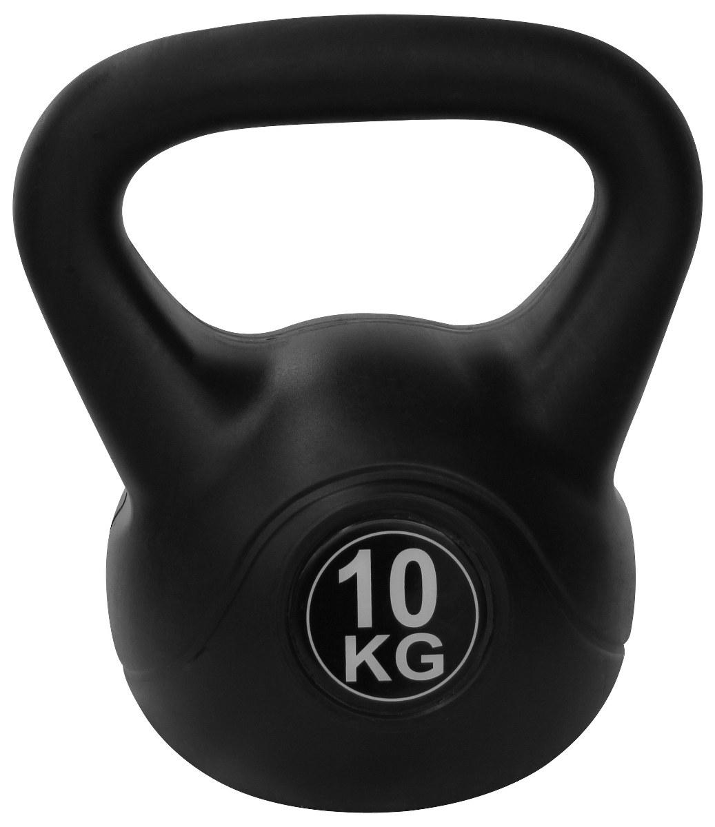 Kettlebell 10 Kg: PVC Kettlebell ( 10 Kg )