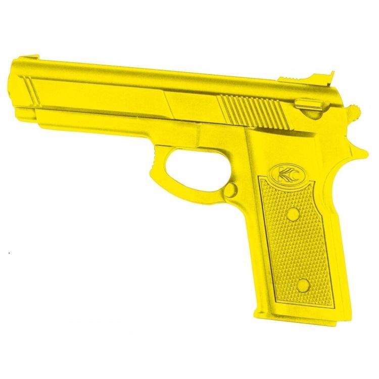 Essimo Rubberen oefenpistool – Geel