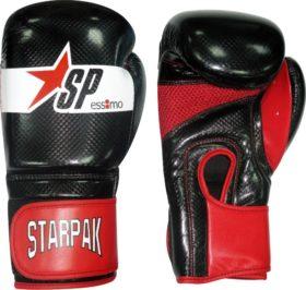 "Essimo Starpak ""Aero Tech"" Fitness (Kick)Bokshandschoenen - Zwart/Rood"
