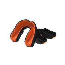 Multisports Gel Mouthguard Black/Orange Youth