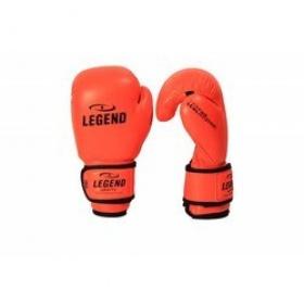 Legend kinder Bokshandschoenen neon oranje