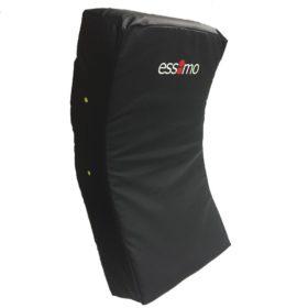 Essimo curved trapkussen 70 CM - Zwart