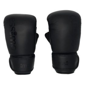 Essimo Bokszakhandschoenen PU - Zwart/Zwart