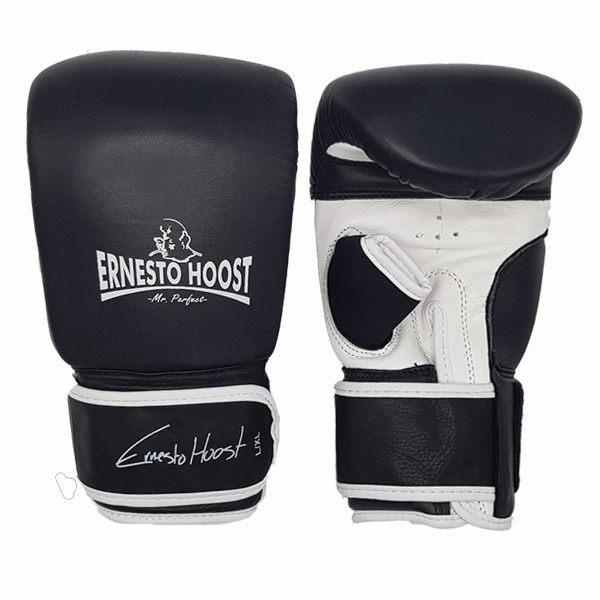 """Ernesto Hoost Bag Gloves """"Special DDF"""" Leather – Black/White"""