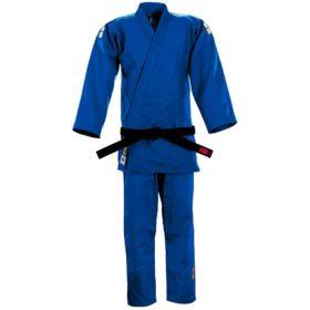 Essimo Judopak PREMIUM Blauw – Slim fit