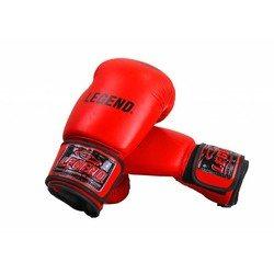 Kinderbokshandschoenen (rood)