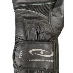 Bokshandschoenen Legend Power Special (mat zwart)