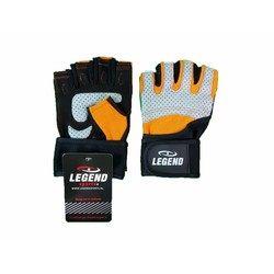 Fitness Handschoenen Legend Grip Oranje/Grijs