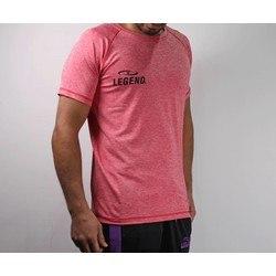 Trendy Legend DryFit sportshirt rood melange