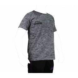 Trendy Legend DryFit sportshirt zwart melange