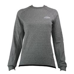 Trendy lange trui van de hoogste kwaliteit grijs