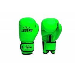 Legend kinder Bokshandschoenen neon groen