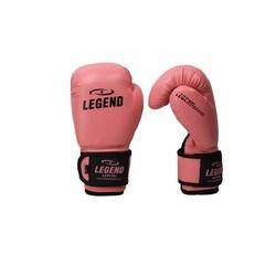 Legend kinder Bokshandschoenen roze