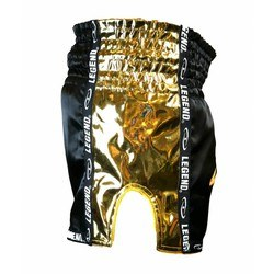 Kickboksshort Legend Golden Star (zwart / goud)