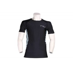 Legend DryFit shirt / mma rashguard zwart/grijs