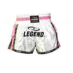 Legend Kickboksbroekje (roze/wit)