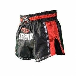 Legend Kickboksbroekje (zwart / rood)