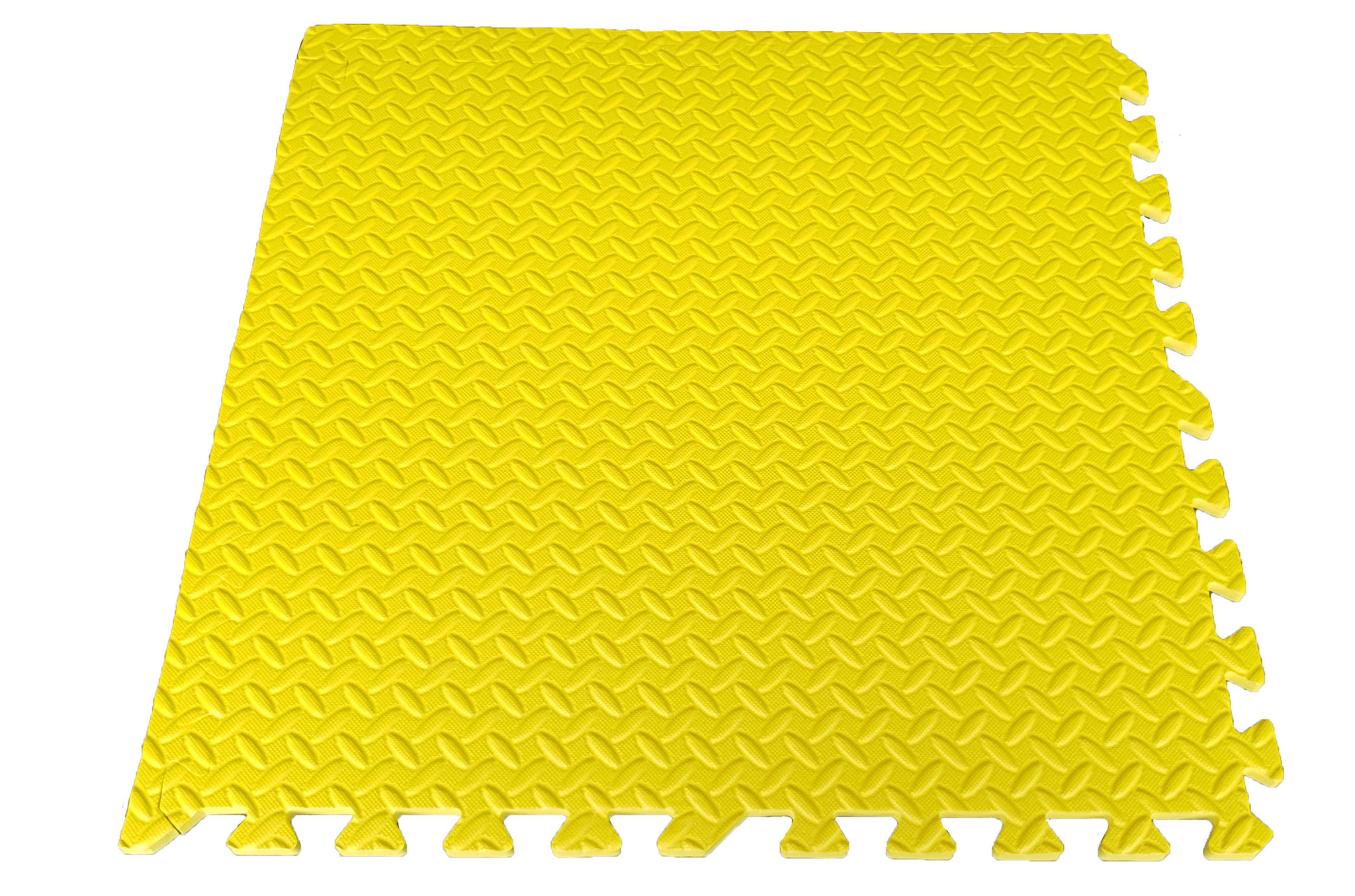 Puzzelmat 60 x 60 x 1.2 cm (geel)