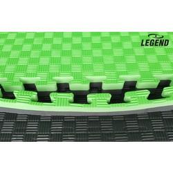 puzzelmat-groen