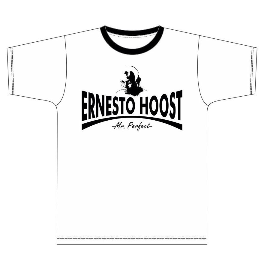 "Ernesto Hoost T-shirt ""Mr. Perfect"" White"