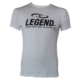 Trendy designs t-shirt Legend Wit