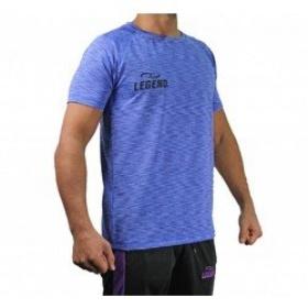 Trendy Legend DryFit sportshirt blauw melange