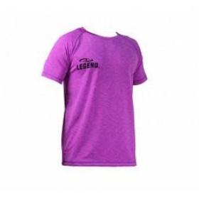 Trendy Legend DryFit sportshirt paars melange