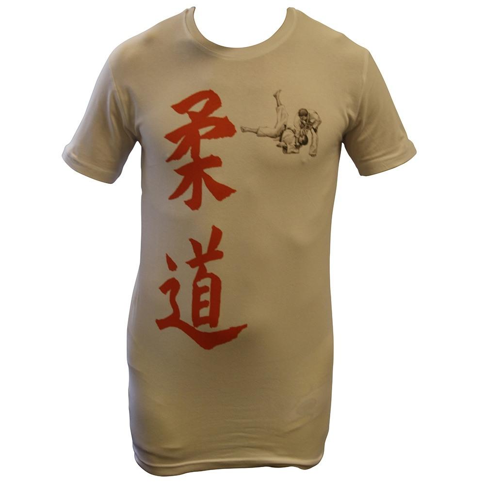 "T-shirt ""Kanji"" – Wit"