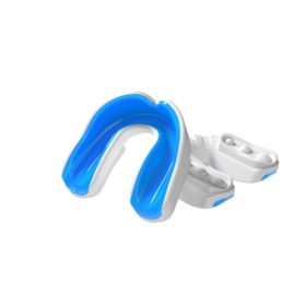 Multisports Gel Mouthguard White/Blue Youth