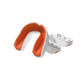 Multisports Gel Mouthguard White/Orange Adult