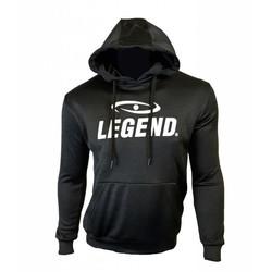 Trendy hoodie van de hoogste kwaliteit zwart
