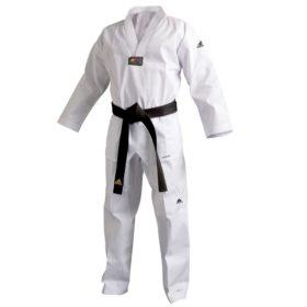 Adidas Taekwondopak Champion III (wit)