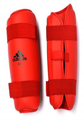Adidas WKF scheenbeschermer (rood)