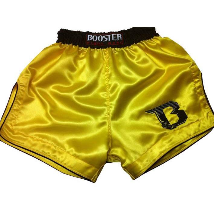 Kickboksshort (TBS) geel