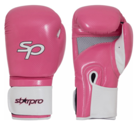 Starpro Aero Tech Fitness Boxing Glove-10oz Roze/Wit