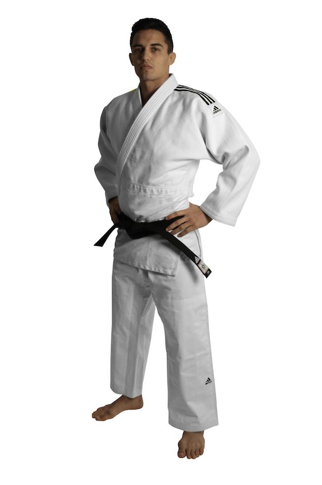 Adidas Judopak J690 Wit maat 155