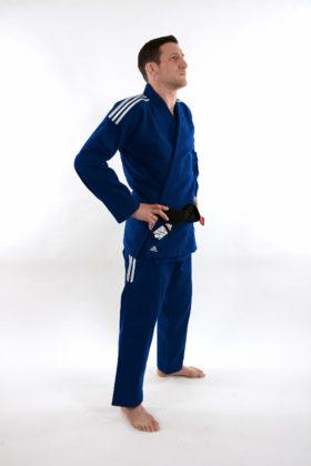 Adidas BJJ Contest Blauw maat A0