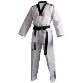 Adidas Taekwondopak Club /// Zwarte Revers maat 130