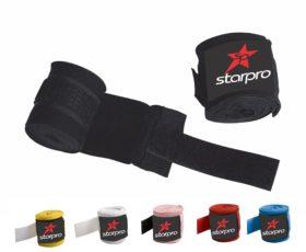 Starpro Boxing Bandage Zwart 255cm