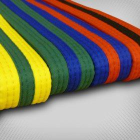 JC Taekwondo banden Geel/Groen maat 220