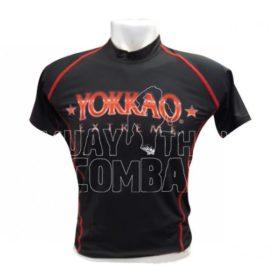 Yokkao Extreme Rashguard Korte Mouw Zwart maat S
