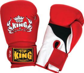 Top King Bokshandschoen Super Air Rood 10oz