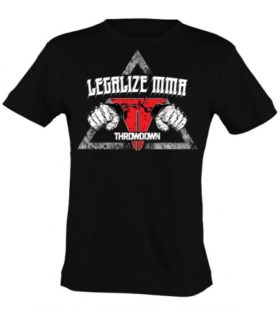 Throwdown Shirt Legalize MMA maat S