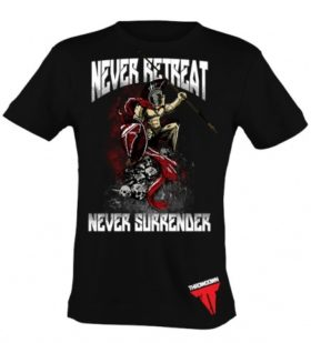 Throwdown Shirt Never Retreat maat S
